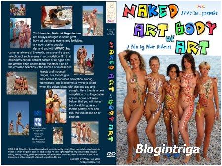 Обнажённое Искусство Боди-Арта