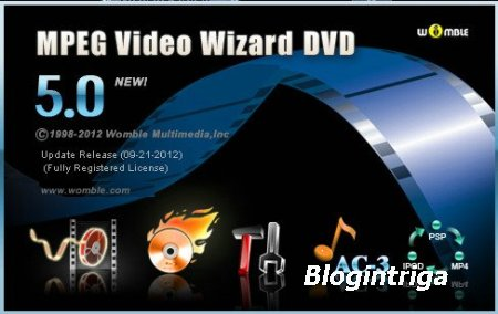 Womble MPEG Video Wizard DVD 5.0.1.108 (06/2013)