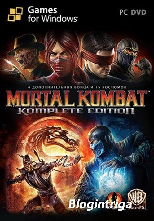 Mortal Kombat Komplete Edition [Steam-Rip] (2013/PC/Eng) by R.G. Origins