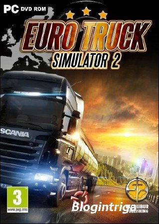 Euro Truck Simulator 2 + Truck Sim Map 3.3 Mod (2012/PC/RePack/Rus) by R.G. ...