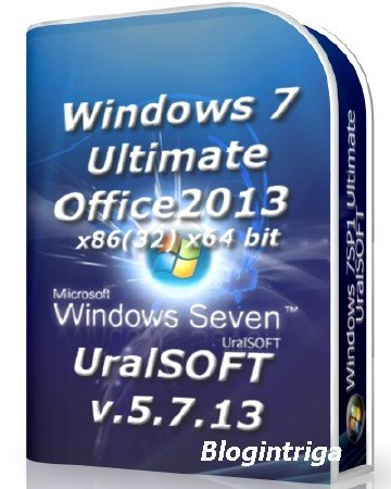 Windows 7x86x64 Ultimate & Office2013 UralSOFT v.5.7.13 (2013) [RUS]