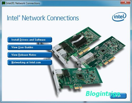 Intel Network Connections Software 18.4.2