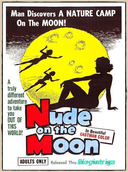 ����� �� ���� / Nude on the Moon (1961) DVDRip AVC