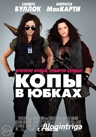 Копы в юбках / The Heat (2013) BDRip-AVC