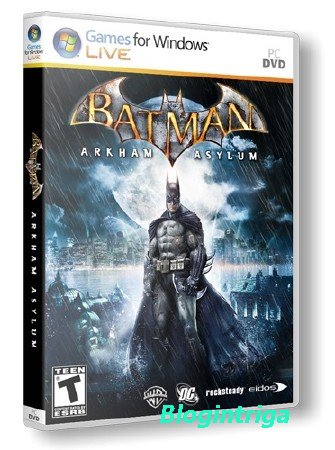 Batman: Arkham Asylum [Steam-Rip] (2010/PC/Rus) RePack by R.G. Origins
