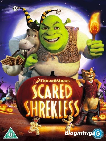 Шрек: Хэллоуин / Scared Shrekless (2010) HDTV 1080p