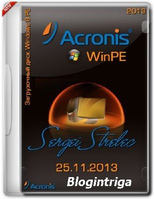 Acronis Win8 PE Sergei Strelec 25.11.2013 Full/Lite (2013) PC