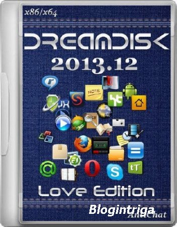 DreamDisk 2013.12 Love Edition (x86/x64)