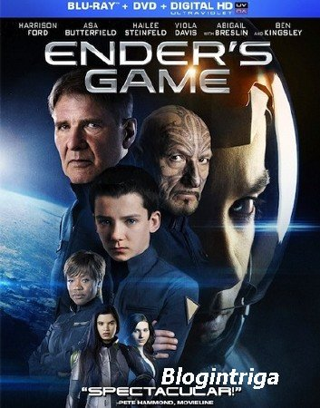 Игра Эндера / Ender's Game (2013) BDRip 720p | Чистый звук