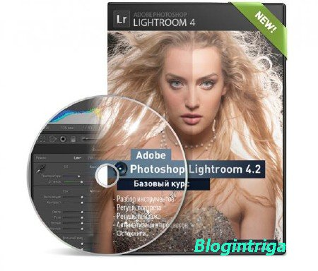 Lightroom 4.2 - Базовый курс. [Максим Басманов] (2013) MP4