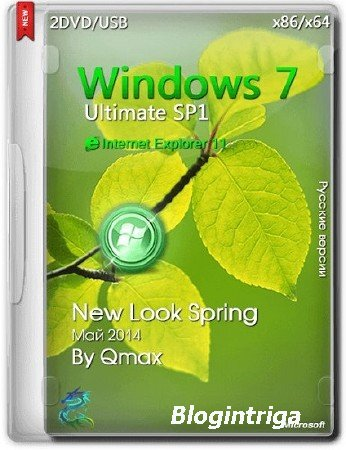 Windows 7 SP1 x86 x64 Ultimate New Look Spring 2DVD by =Qmax=
