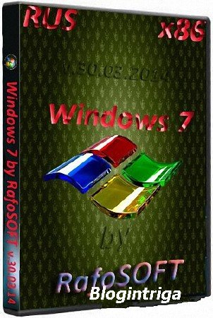 Windows 7 Ultimate x86 by RafoSOFT + WPI Portable (2014) Rus