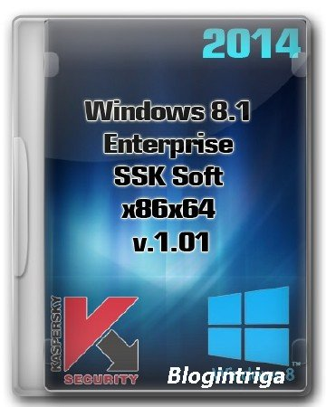 Windows 8.1 Enterprise SSK Soft x86 x64 v.1.01