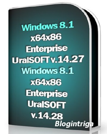 Windows 8.1 x64 x86 Enterprise UralSOFT v.14.27-28 (2014) RUS