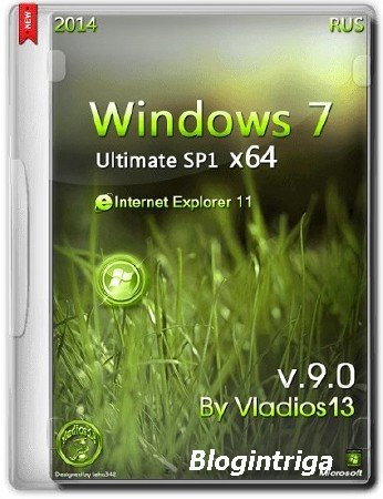 Windows 7 SP1 Ultimate x64 by vladios13 [v9.0] Ru