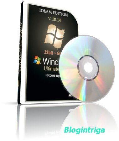 Windows Seven Ultimate SP1 IDimm Edition (x86\x64) ver. 18.14 RU\2014