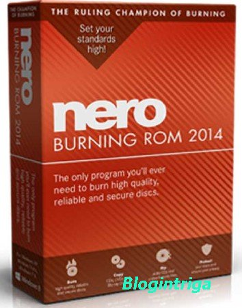 Nero Burning ROM 2014 15.0.05600 Final (2014/RU/EN)