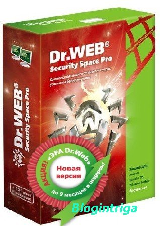 Dr.Web Security Space 9.1.1.08180 Final 2014 (RUS/ENG)