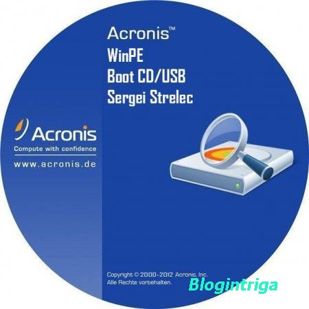Acronis Boot CD/USB Sergei Strelec 11.10.2014 (2014/RUS)