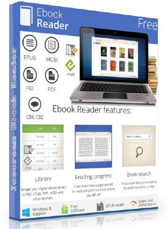 Icecream Ebook Reader 1.56 Rus Portable by SamDel