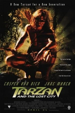 Тарзан и затерянный город  / Tarzan and the Lost City  (1998) DVDRip