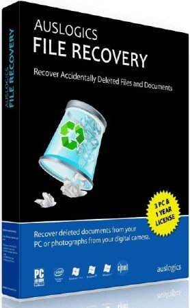 Auslogics File Recovery 5.4.0.0 DC 21.05.2015 + Rus