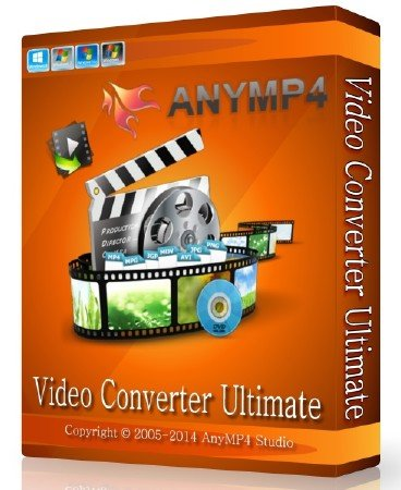 AnyMP4 Video Converter Ultimate 6.1.38 + Rus