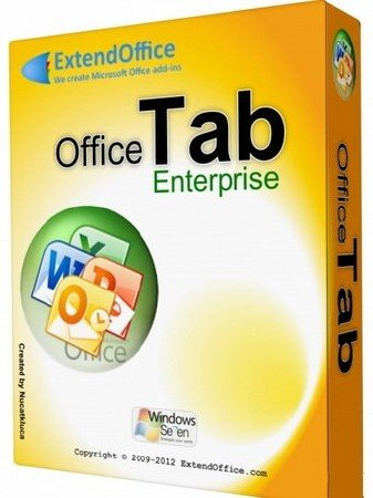 Office Tab Enterprise Edition 10.0 RePack by D!akov