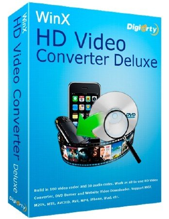 WinX HD Video Converter Deluxe 5.6.2.241 Build 16.09.2015 + Rus