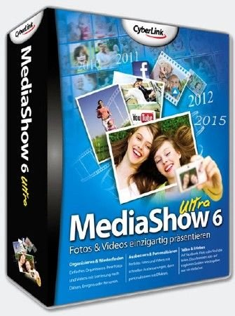 CyberLink MediaShow Ultra 6.0.8111 Retail + Rus