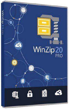 WinZip Pro 20.0 Build 11659 Final RePack by D!akov