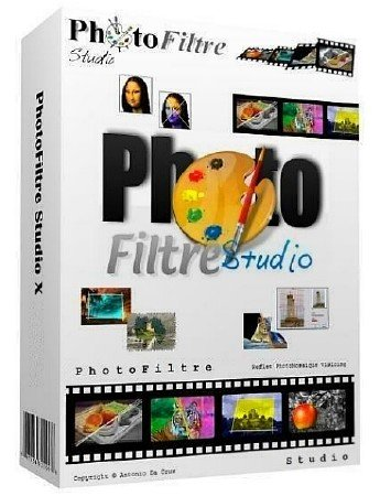 PhotoFiltre Studio X 10.10.1 + Portable