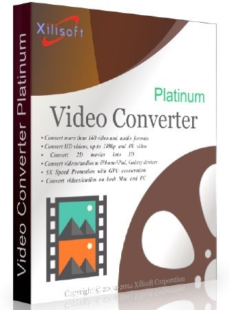 Xilisoft Video Converter Platinum 7.8.12 Build 20151119 + Rus