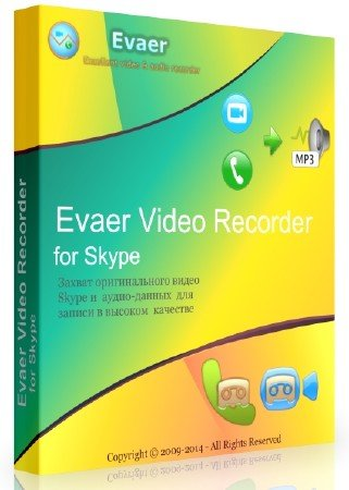 Evaer Video Recorder for Skype 1.6.5.21 + Rus