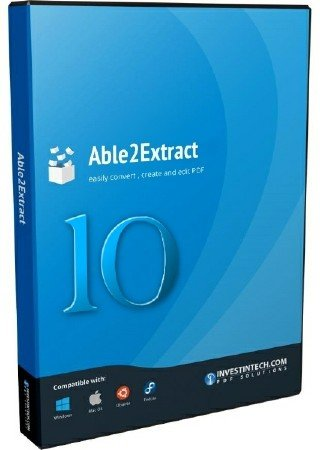 Able2Extract PDF Converter 10.0.4.0 Final
