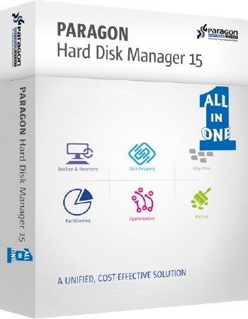 Paragon Hard Disk Manager 15 Premium 10.1.25.813