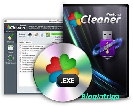 Windows Cleaner 1.8.22.1 Portable (Ml/Rus)