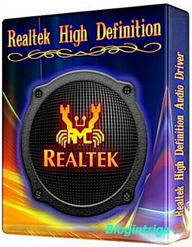 Realtek High Definition Audio Drivers 6.0.1.7801 Vista/7/8.x/10 WHQL + 5.10.0.7513 XP