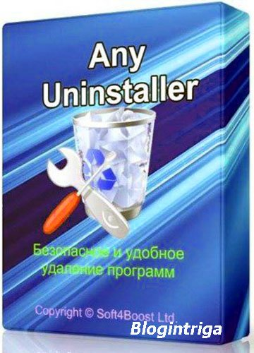 Soft4Boost Any Uninstaller 6.9.3.527