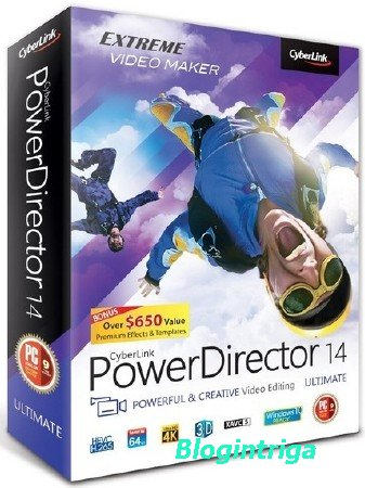 CyberLink PowerDirector Ultimate 14.0.2820.0