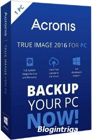 Acronis True Image 2016 19.0 Build 6571 Final + BootCD