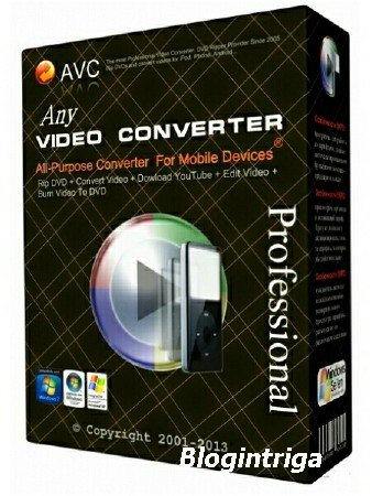 Any Video Converter Professional 6.0.0