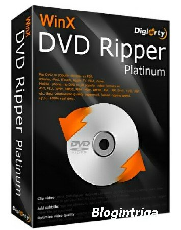 WinX DVD Ripper Platinum 7.5.16.146 Build 08.09.2016 + Rus