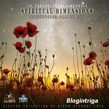 Spiritual Demensions: September Trance Mix (2016)