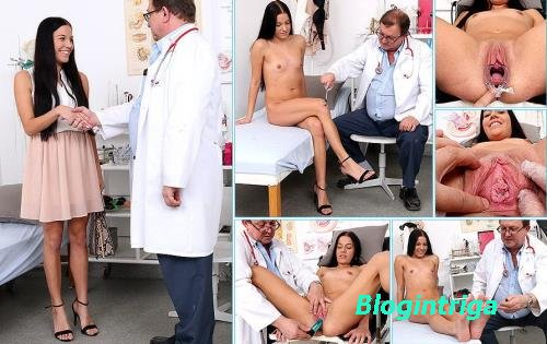 Eveline Dellai - 22 years girls gyno exam