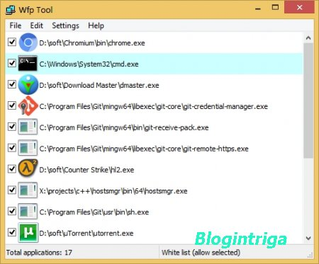 WFP Tool 1.3.1 (x86/x64) + Portable