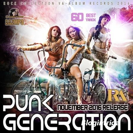 VA - Punk Generation Rock Collection (2016)