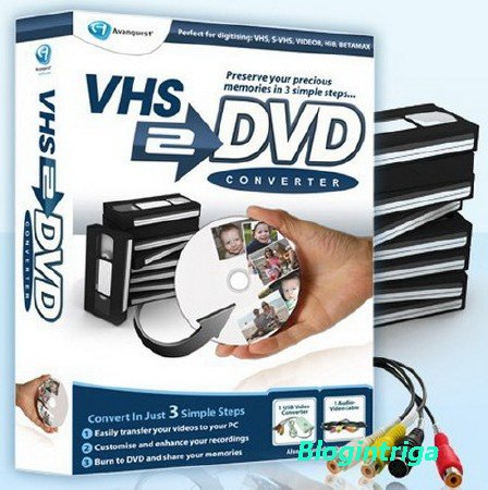 Avanquest VHS to DVD Converter 7.85