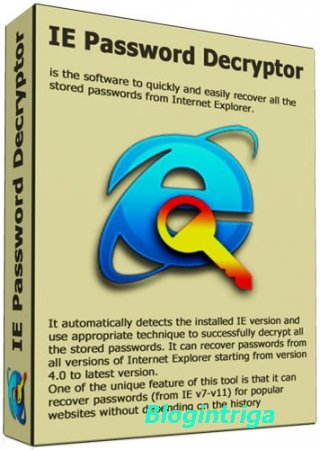 IE Password Decryptor 9.0 + Portable