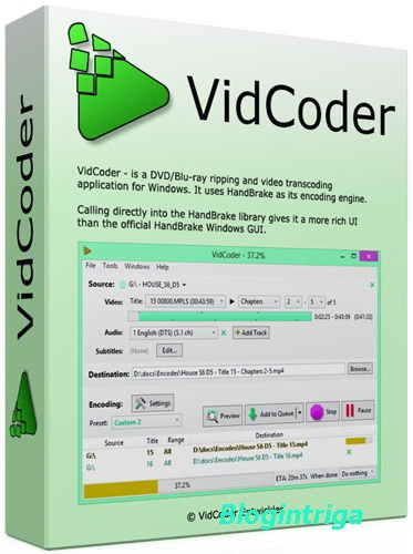 VidCoder 2.40 Beta (x86/x64) + Portable